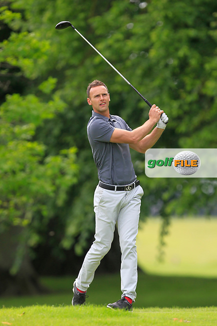 Oliver Pantoja (Oliver Pantoja Golf) on the 2nd tee during Round 2 of the Titleist &amp; Footjoy PGA Professional Championship at Luttrellstown Castle Golf &amp; Country Club on Wednesday 14th June 2017.<br /> Photo: Golffile / Thos Caffrey.<br /> <br /> All photo usage must carry mandatory copyright credit     (&copy; Golffile | Thos Caffrey)
