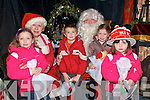 Santa's Cottage:Visiting Santa Claus & Mrs Claus at Santa's Cottage , Town park in Listowel on Saturday were Ciara Kemnnelly, Christopher O'Donoghue , Carragh O'Donoghue and Deifbhile Kennelly, all from Ballylonhford.
