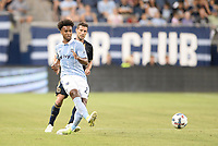Kansas City, Kansas - July 6, 2017: Sporting Kansas City and Philadelphia Union played to a 1-1 tie in MLS action at Children's Mercy Park.