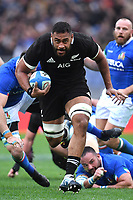 Izack Tuipulotu All Blacks<br /> Roma 24-11-2018  Stadio Olimpico,<br /> Rugby Cattolica Test Match 2018<br /> Italia vs Nuova Zealanda / Italy vs New Zealand <br /> Photo Antonietta Baldassarre / Insidefoto