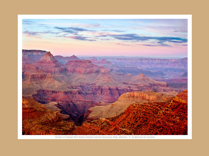Sunset on the Grandview Trail<br />