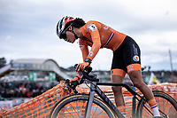Ceylin Del Carmen Alvarado (NED)<br /> <br /> Women's Elite Race<br /> UCI 2020 Cyclocross World Championships<br /> Dübendorf / Switzerland<br /> <br /> ©kramon