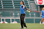 26 August 2011: Natasha Kai. The Philadelphia Independence held a training session at Sahlen's Stadium in Rochester, New York the day before playing in the Women's Professional Soccer championship game.