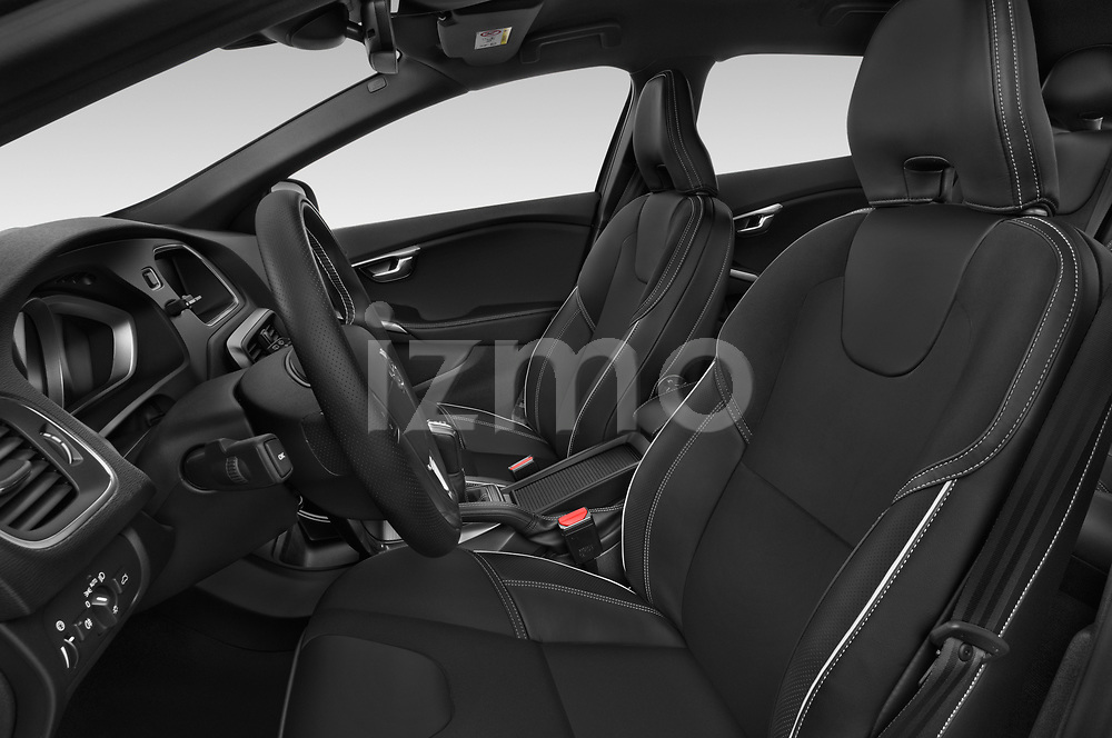 Front seat view of a 2018 Volvo V40 R-Design 5 Door Hatchback front seat car photos
