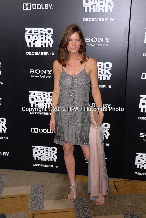LOS ANGELES - DEC 10:  Michelle Stafford arrives to the 'Zero Dark Thirty' premiere at Dolby Theater on December 10, 2012 in Los Angeles, CA