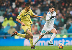 Isco Alarcon (R) of Real Madrid is followed by Rodrigo Hernandez Cascante, Rodri, of Villarreal CF during the La Liga 2017-18 match between Real Madrid and Villarreal CF at Santiago Bernabeu Stadium on January 13 2018 in Madrid, Spain. Photo by Diego Gonzalez / Power Sport Images