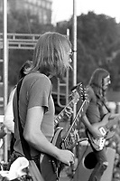 Duane Allman of The Allman Brothers Band performing at the Sunset concert series 'Summerthing' at Boston on the Common in Boston, MA in the summer of 1971. <br /> *** NEVER BEFORE PUBLISHED PHOTOS *** <br /> © Peter Tarnoff / MediaPunch