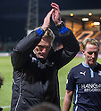 St Mirren caretaker manager Gary Teale at the end of the game.