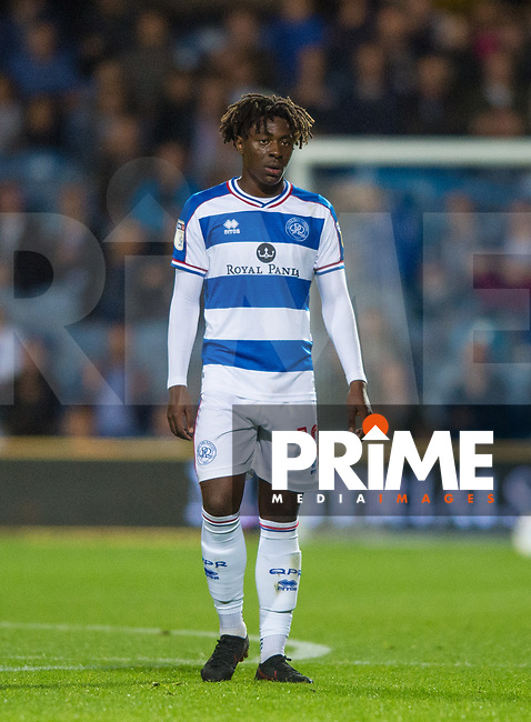 QPR Eberechi Eze during the Sky Bet Championship match between Queens Park Rangers and Millwall at Loftus Road Stadium, London, England on 19 September 2018. Photo by Andrew Aleksiejczuk / PRiME Media Images.