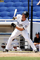 July 12, 2009:  Bradley McElroy of the Dunedin Blue Jays during a game at Dunedin Stadium in Dunedin, FL.  Dunedin is the Florida State League High-A affiliate of the Toronto Blue Jays.  Photo By Mike Janes/Four Seam Images