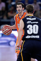 Valencia Basket Club's Pau Ribas during Spanish Basketball King's Cup semifinal match.February 07,2013. (ALTERPHOTOS/Acero) /NortePhoto