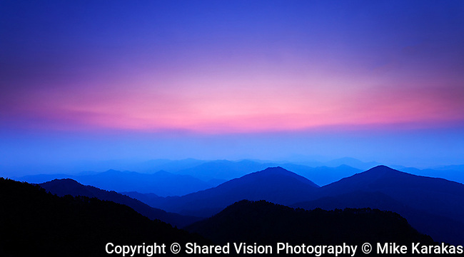 Sunrise from Budist Mountain Temple