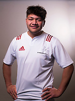 Saula Mau. The 2017 New Zealand Schools Barbarians rugby union headshots at the Sport and Rugby Institute in Palmerston North, New Zealand on Monday, 25 September 2017. Photo: Dave Lintott / lintottphoto.co.nz