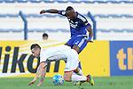 AL NASR (UAE) vs LOKOMOTIV (UZB) during the 2016 AFC Champions League Group A Match Day 5 match at Al Maktoum Stadium on 20 April 2016 in Dubai, United Arab Emirates.
