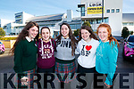 Killorglin Community College students pictured at the IT Tralee Open Day on Friday last were l-r: Katelyn Halpenny, Shania O'Sullivan, Jade O'Connor, Alanna O'Sullivan and Lucy Knight.