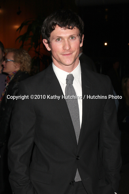 "LOS ANGELES - NOV 16:  Jonathan Tucker arrives at  ""The Next Three Days"" LA Premiere  at Director's Guild Of America on November 16, 2010 in Los Angeles, CA"