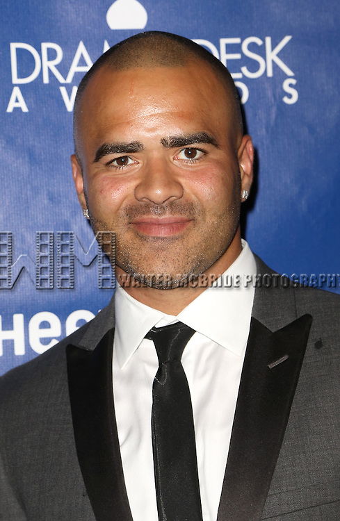 Christopher Jackson attends the 2015 Drama Desk Awards at Town Hall on May 31, 2015 in New York City.