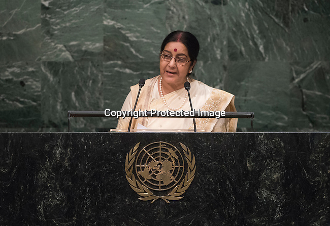 India<br /> General Assembly 70th session 22nd plenary meeting<br /> Continuation of the General Debate