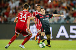 AC Milan Midfielder Jose Mauri in action during the 2017 International Champions Cup China match between FC Bayern and AC Milan at Universiade Sports Centre Stadium on July 22, 2017 in Shenzhen, China. Photo by Marcio Rodrigo Machado/Power Sport Images