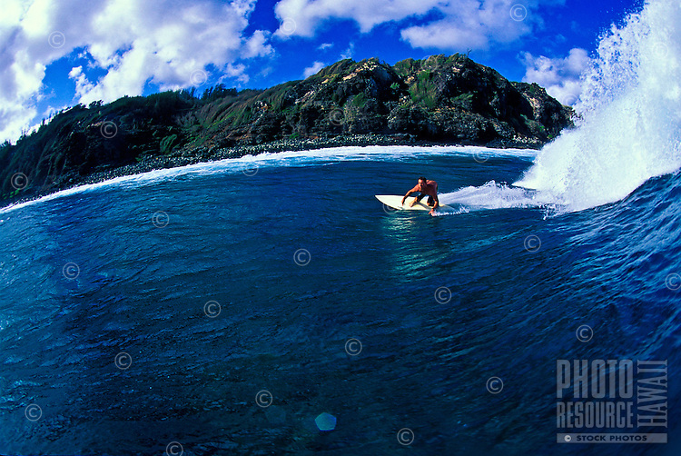 Surfing, Upper West Side, Maui
