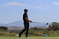 Haydn Porteous (RSA) on the 2nd tee during Round 3 of the Rocco Forte Sicilian Open 2018 on Saturday 12th May 2018.<br /> Picture:  Thos Caffrey / www.golffile.ie<br /> <br /> All photo usage must carry mandatory copyright credit (&copy; Golffile   Thos Caffrey
