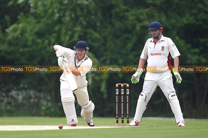 Paul Martin of Billericay during South Woodford CC vs Billericay CC, Shepherd Neame Essex League Cup Cricket at Highfield Road on 6th May 2017