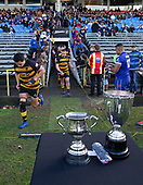 Counties Manukau Premier 1 McNamara Cup Final between Ardmore Marist and Bombay, played at Navigation Homes Stadium on Saturday July 20th 2019.<br />  Bombay won the McNamara Cup for the 5th time in 6 years, 33 - 18 after leading 14 - 10 at halftime.<br /> Photo by Richard Spranger.