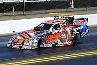 Jul. 26, 2014; Sonoma, CA, USA; NHRA funny car driver Matt Hagan during qualifying for the Sonoma Nationals at Sonoma Raceway. Mandatory Credit: Mark J. Rebilas-