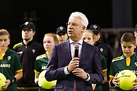 Rotterdam, The Netherlands, 14 Februari 2019, ABNAMRO World Tennis Tournament, Ahoy, Wheelchair, Final, Speech,<br /> Photo: www.tennisimages.com/Henk Koster