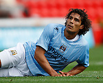 Manchester City's Bernardo Corradi