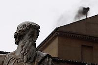 ROMA 13/03/2013 . LA FUMATA NERA. FOTO CIRO DE LUCA