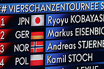 FIS Ski Jumping World Cup - 4 Hills Tournament 2019 in Innsvruck on January 4, 2019;  leader board with leading Ryoyu Kobayashi (JPN)