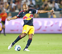 CARSON, CA - November 3, 2011: NY Red Bulls forward Thierry Henry (14) during the match between LA Galaxy and NY Red Bulls at the Home Depot Center in Carson, California. Final score LA Galaxy 2, NY Red Bulls 1.