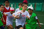 HSBC Staff Coaching Clinic during the ARFU Asian Rugby 7s in Hong Kong