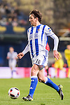 Mikel Oyarzabal of Real Sociedad in action during their Copa del Rey 2016-17 Round of 16 match between Villarreal and Real Sociedad at the Estadio El Madrigal on 11 January 2017 in Villarreal, Spain. Photo by Maria Jose Segovia Carmona / Power Sport Images