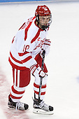 Danny O'Regan (BU - 10) - The Boston University Terriers defeated the visiting University of Connecticut Huskies 4-2 (EN) on Saturday, October 24, 2015, at Agganis Arena in Boston, Massachusetts.