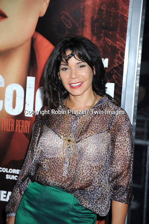 """Daphne Rubin-Vegaattending The New York Special Screening.of """"For Colored Girls"""" at The Ziegfeld Theatre on October 25, 2010 in New York City"""