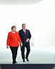 June 05-18,Hungary´s Prime Minister Viktor Orban press conference with Angela Merkel in Berlin