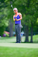 Min Seo Kwak (KOR) reacts to barely missing her putt on 16 during Thursday's round 1 of the 2017 KPMG Women's PGA Championship, at Olympia Fields Country Club, Olympia Fields, Illinois. 6/29/2017.<br /> Picture: Golffile | Ken Murray<br /> <br /> <br /> All photo usage must carry mandatory copyright credit (&copy; Golffile | Ken Murray)