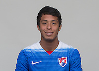 Manhattan Beach, CA - Tuesday, April 21, 2015: U.S. Men's U-23 head shots.