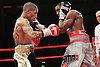 Ashley Theophane vs Darren Hamilton - PHOTO BY CHRIS ROYLE