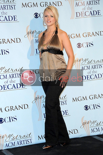 Miranda Lambert<br />in the press room at the Academy Of Country Music Awards' Artist Of The Decade. MGM Grand, Las Vegas, NV. 04-06-09<br />Dave Edwards/DailyCeleb.com 818-249-4998