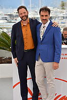 """CANNES, FRANCE. May 17, 2019: Michael Angelo Covino & Kyle Marvin at the photocall for the """"The Climb"""" at the 72nd Festival de Cannes.<br /> Picture: Paul Smith / Featureflash"""