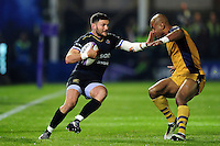 Jeff Williams of Bath Rugby in possession. European Rugby Challenge Cup match, between Bath Rugby and Bristol Rugby on October 20, 2016 at the Recreation Ground in Bath, England. Photo by: Patrick Khachfe / Onside Images