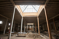 NWA Democrat-Gazette/BEN GOFF @NWABENGOFF<br /> A view inside the 1907 building Wednesday, Dec. 27, on East Walnut Street in downtown Rogers.