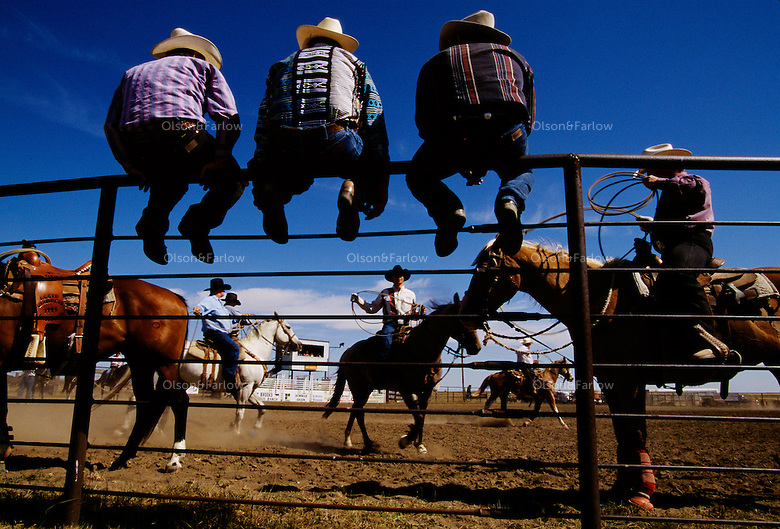"Boasting the ""Smallest Fair in America,"" nineteen people who live in Amidon, North Dakota, all join together to organize and put on the fair. The Slope County Fair Rodeo offers $1000 in purses for the cowboys and cowgirls who triumph in its saddle bronco, steer wrestling, goat tying, bull riding, calf roping, and other competitions. Fairs thrive across the country blending community traditions with entertainment spectacles."