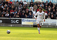 Pictured: Federico Bessone of Swansea City in action <br /> Re: Coca Cola Championship, Swansea City FC v Cardiff City at the Liberty Stadium. Swansea, south Wales, Sunday 30 November 2008.<br /> Picture by D Legakis Photography / Athena Picture Agency, Swansea 07815441513