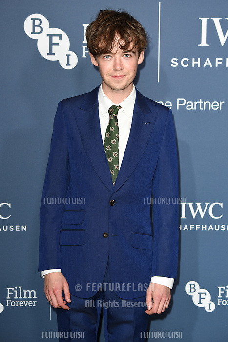 LONDON, UK. October 09, 2018: Alex Lawther arriving for the 2018 IWC Schaffhausen Gala Dinner in Honour of the BFI at the Electric Light Station, London.<br /> Picture: Steve Vas/Featureflash