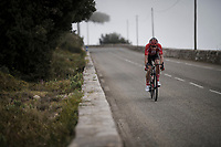 stranded in between groups<br /> <br /> Stage 8: Nice to Nice (110km)<br /> 77th Paris - Nice 2019 (2.UWT)<br /> <br /> ©kramon
