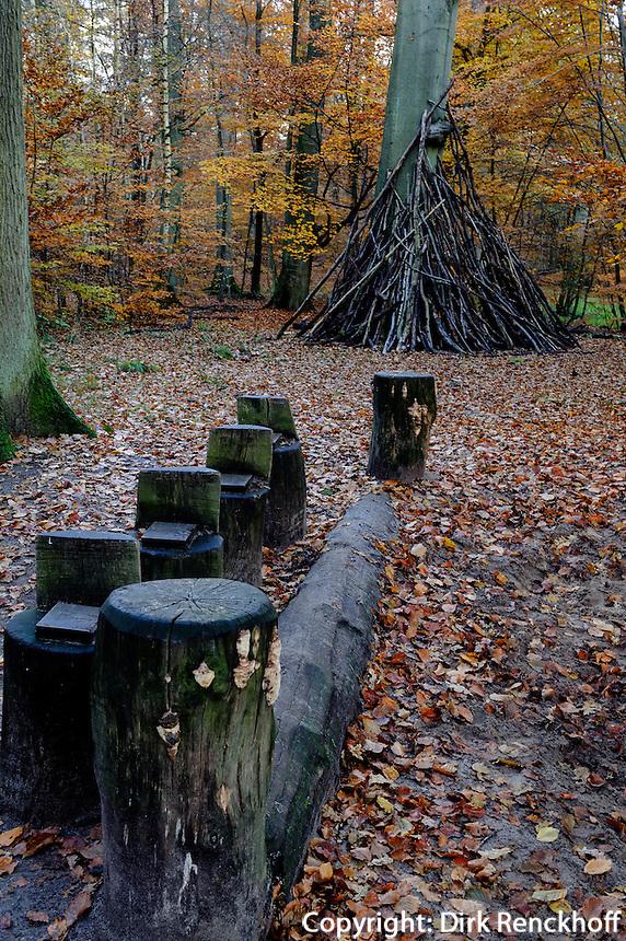 WeitsprunggrubeHistorisch-ökologischer Erlebnispfad Wohldorf-Ohlstedt, Hamburg, Deutschland